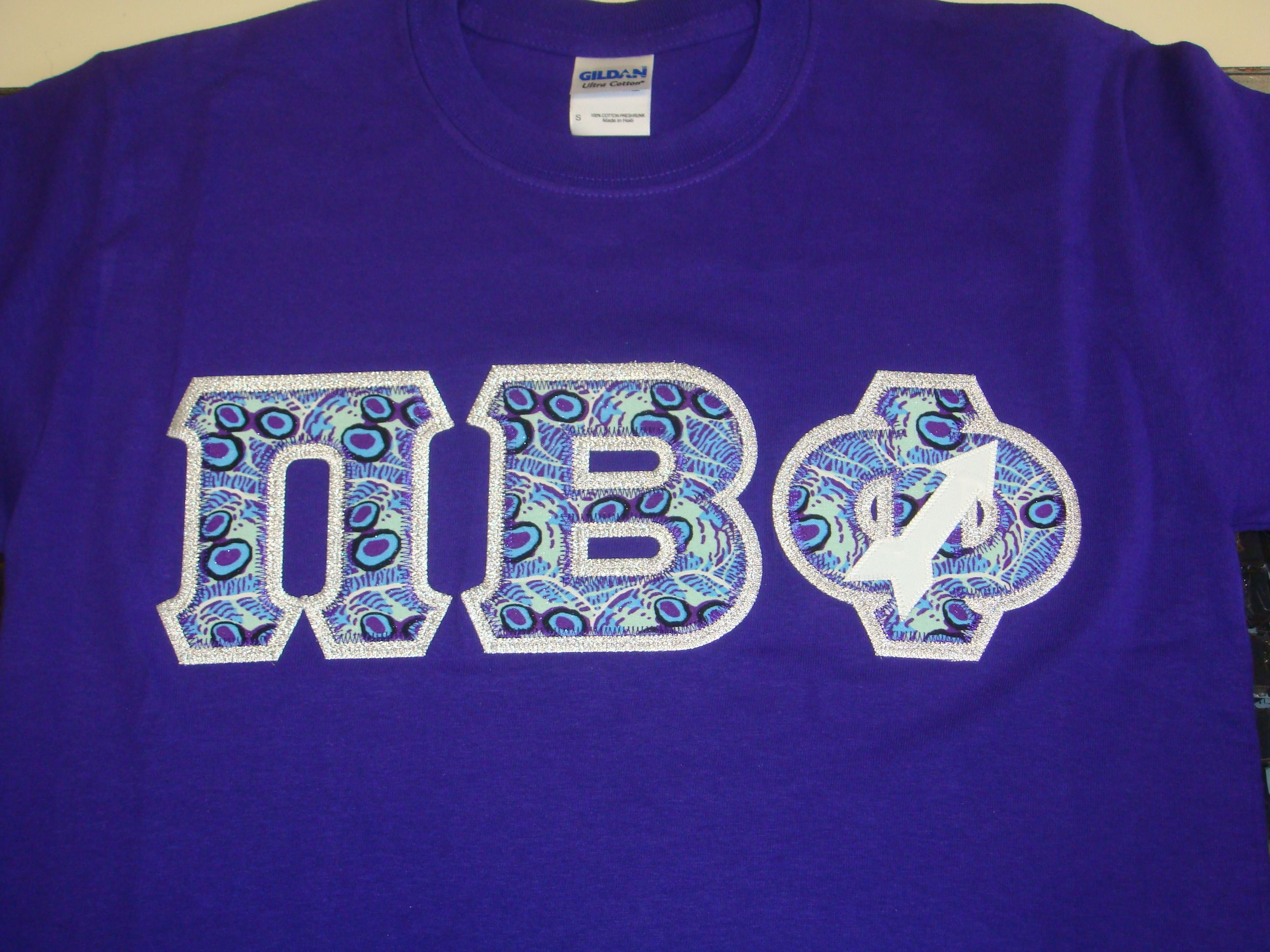 pi beta phi letter shirt with arrow