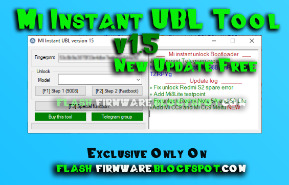 Downloadmi Instant Ubl Tool V1 5 New Update Feature Edl Mode Unlocking Bootloader Fastboot Mode Unlocking Bootload Downloads Folder News Update Freeware