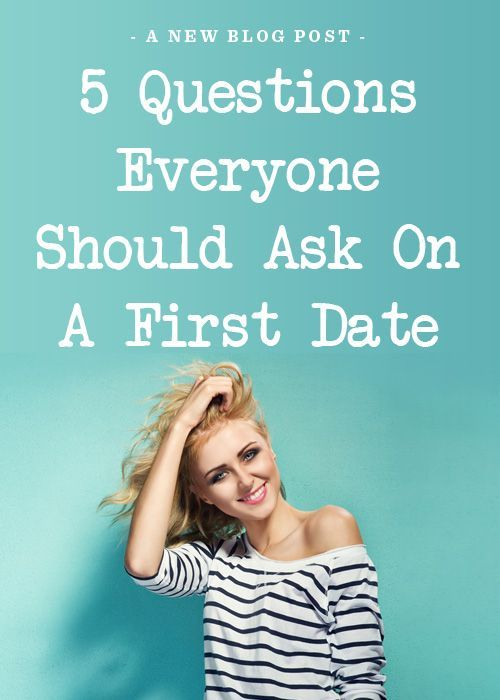Not just 5 Questions Everyone Should Ask On A First Date but good questions  to ask