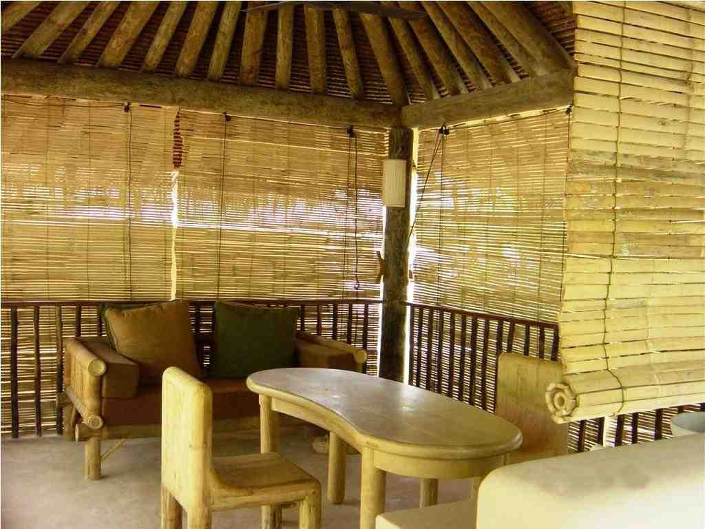Exterior Bamboo Blinds With Images Bamboo Blinds Cool