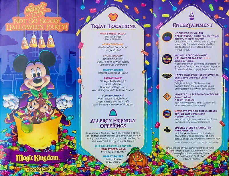 Mickeys Not So Scary Halloween Party Treats 2020 2020 Mickey's Not So Scary Halloween Party Tips & Info   Disney