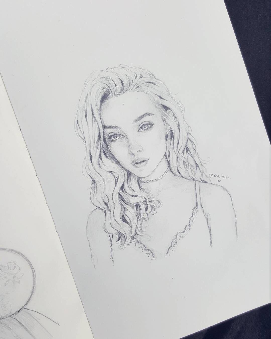 511 2 Mil Seguidores 793 Seguidos 467 Publicaciones Ve Las Fotos Y Los Videos De Instagram De Hiba Abouk Pencil Portrait Fan Art Drawing Portrait Drawing
