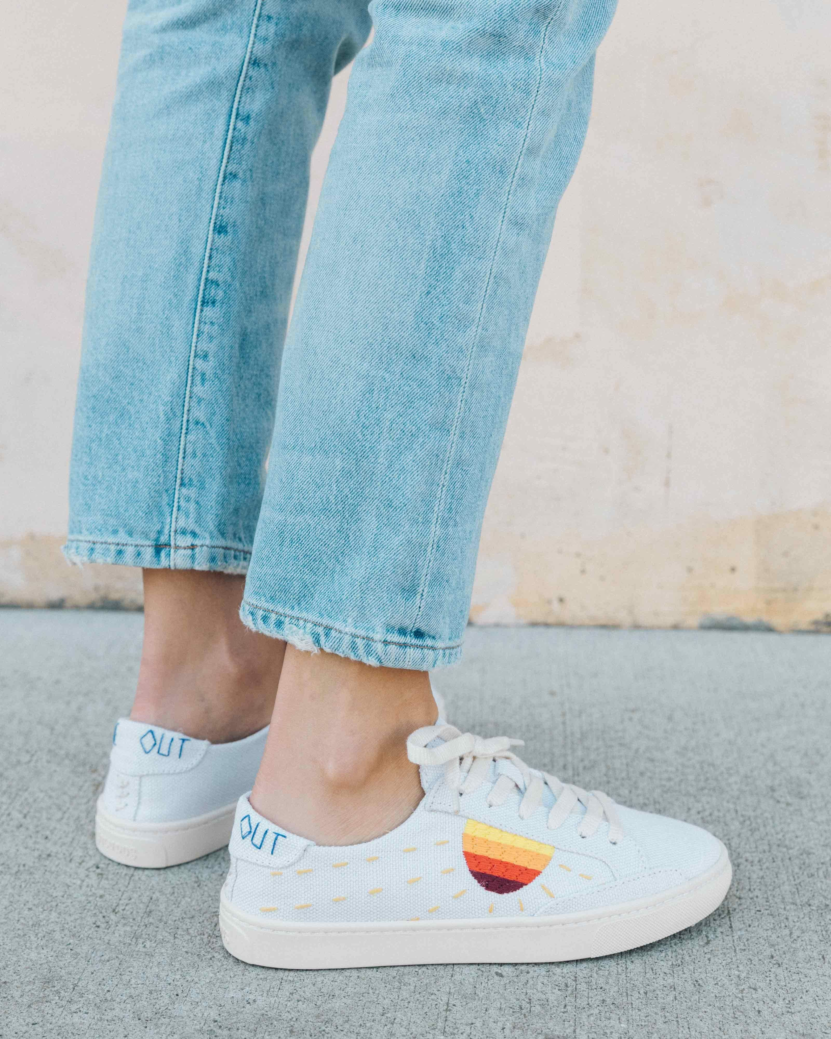 be81dfac7 Soludos Lockhart Embroidered Sun Sneaker $99 | Shoes | Sneakers ...