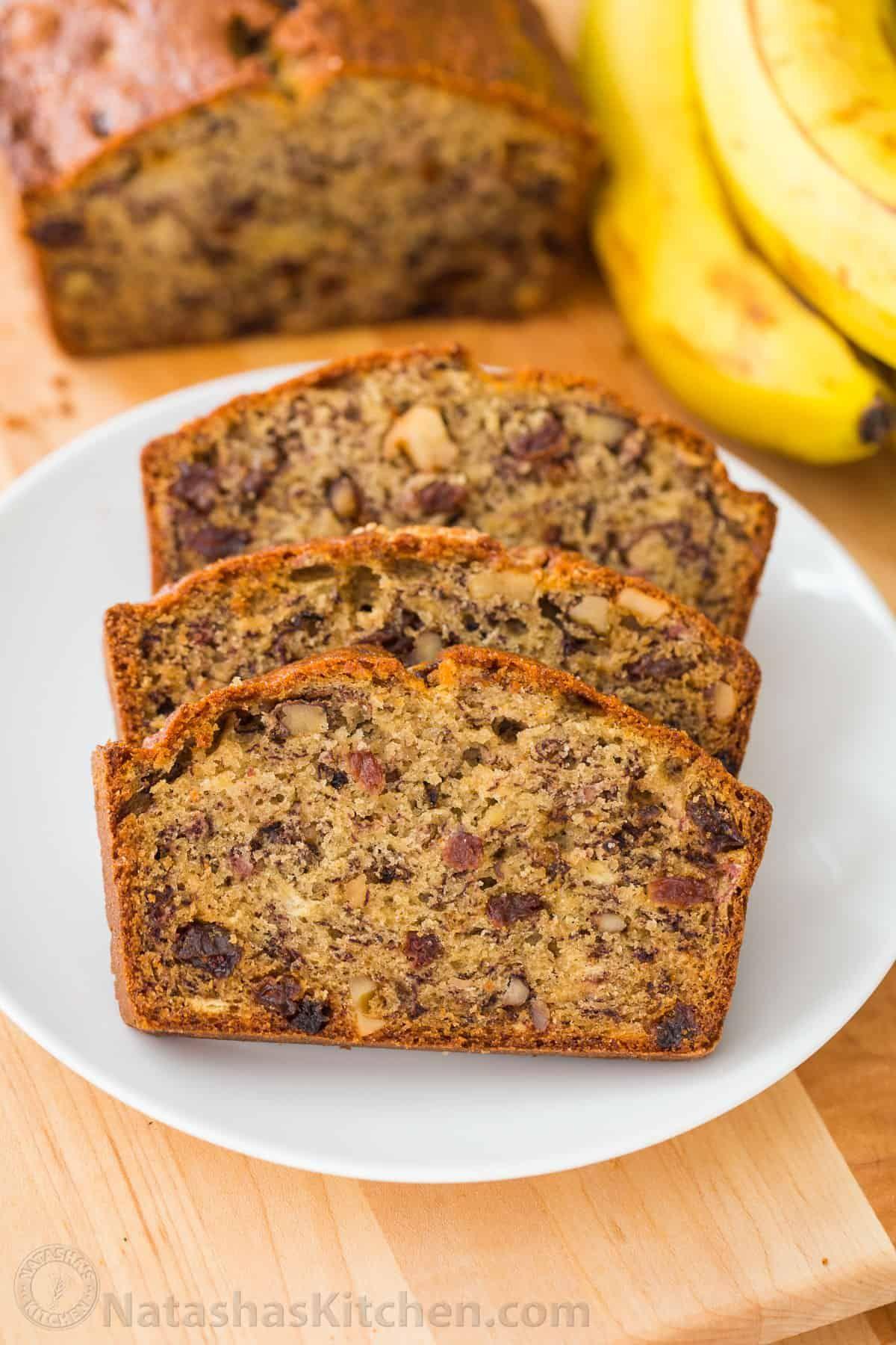 Banana Recipes For How To Make Banana Bread Banana Bread Recipe Moist Banana Bread Recipes Banana Bread Recipe Video