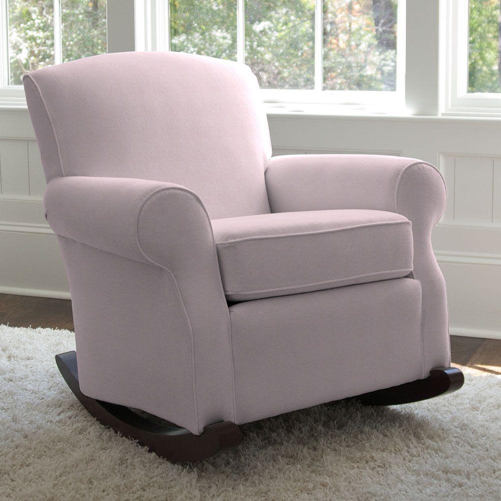 Pink Carousel Rocker Rocking chair pads, Nursery chair