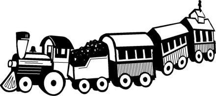 Train Clip Art Black And White Clipart Panda Free Clipart Images Train Clipart Toy Train Free Clip Art