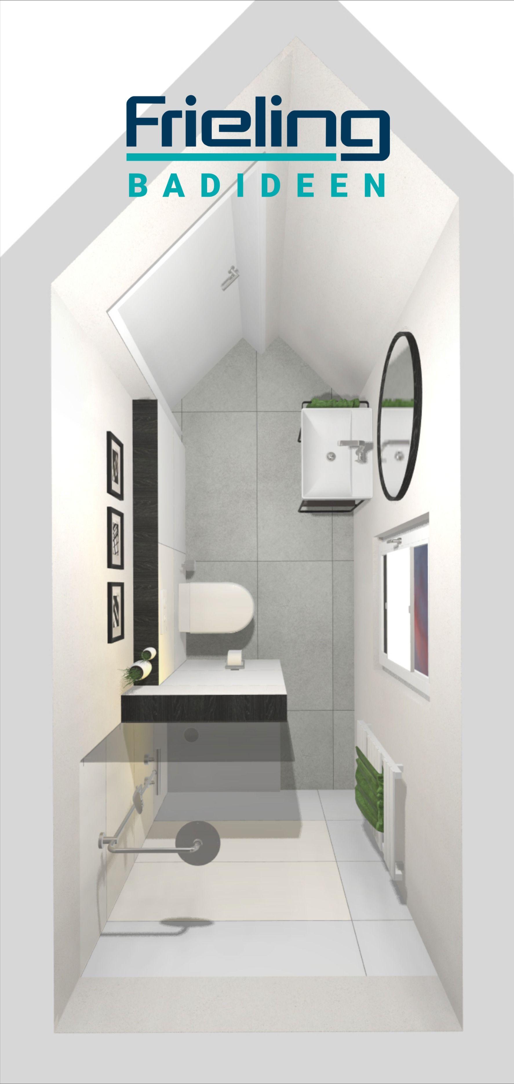 So Richten Wir Kleine Bader Ein Schlauchbad 3d Planung Draufsicht Gastebad Mit Dusche In 2020 Gastebad Dusche Bad