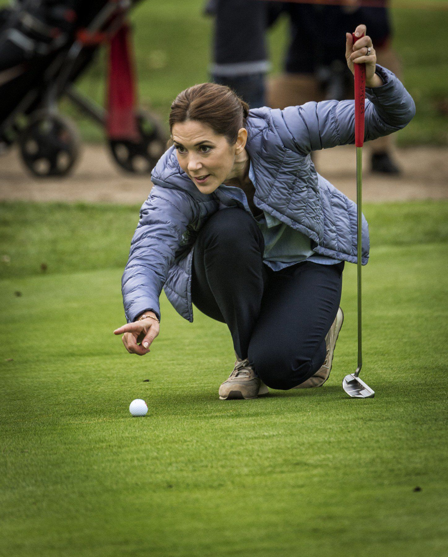 Princess Mary Attended An Awards Ceremony In A Club In Junior Golf Asserbo Prinses Mary Prinses