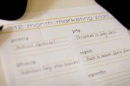 12 month marketing plan | Marketing for Photographers
