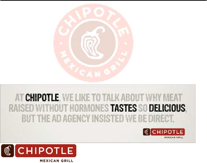 Chipotle Target Market Analysis  Chipotle Brand