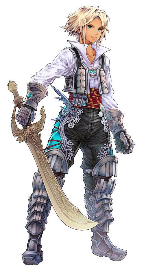 Character Design Final Fantasy Xii : Vaan characters art final fantasy tactics a