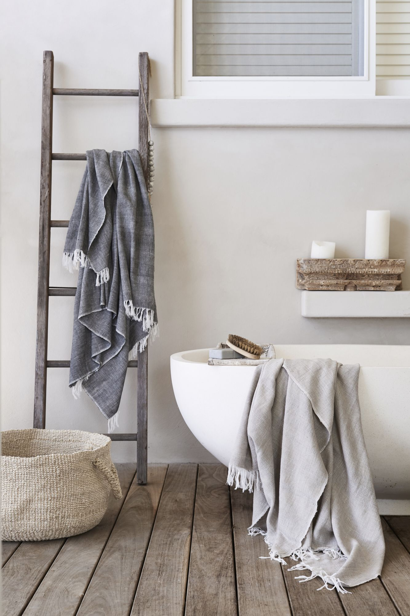 Lusciously Soft And Thick, The Dharma Door Hand Loomed Cotton Throws