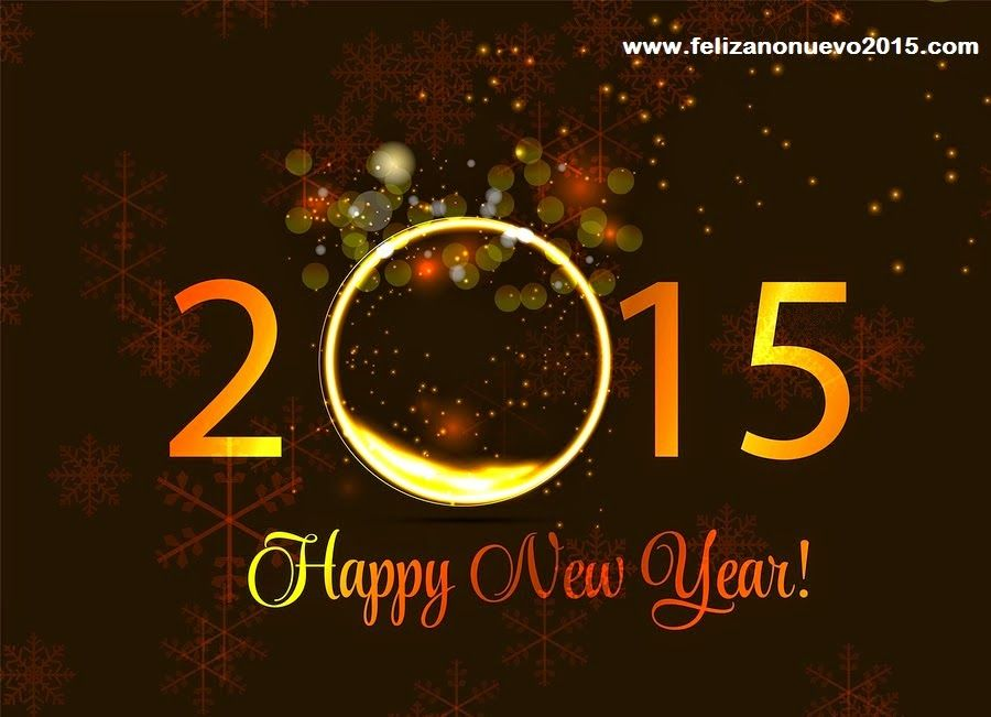 happynewyearecard2015 Feliz año nuevo, Feliz año