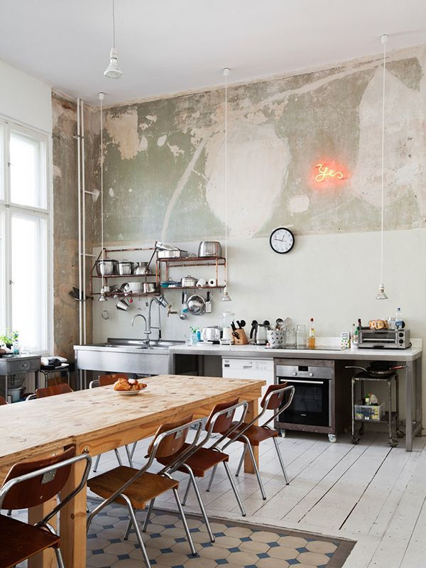 Photo of en gammel leilighet i Berlin … sprenges. ((mitt) uferdige hjem)