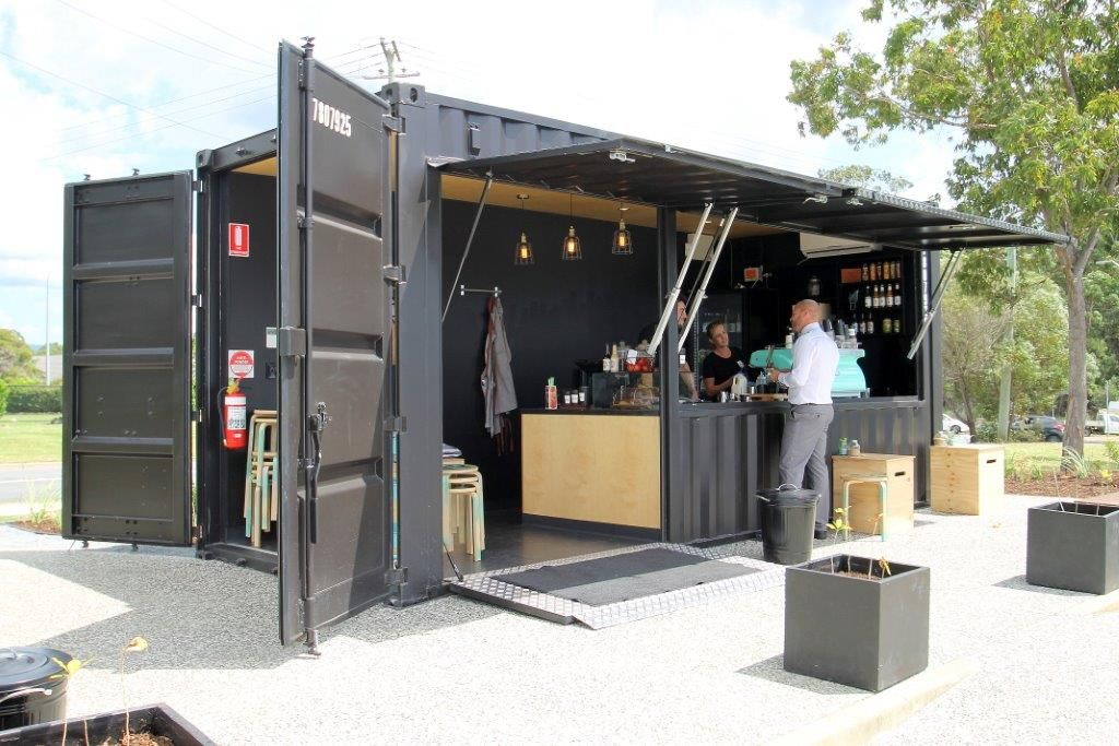 Restaurants And Cafes Royal Wolf Nz Shipping Container Cafe Shipping Container Restaurant Container Shop