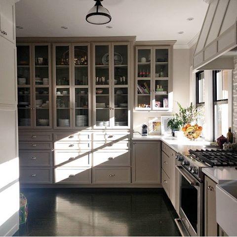 Bm Rockport Gray Cabinets Paint Colors Kitchen Benjamin Moore
