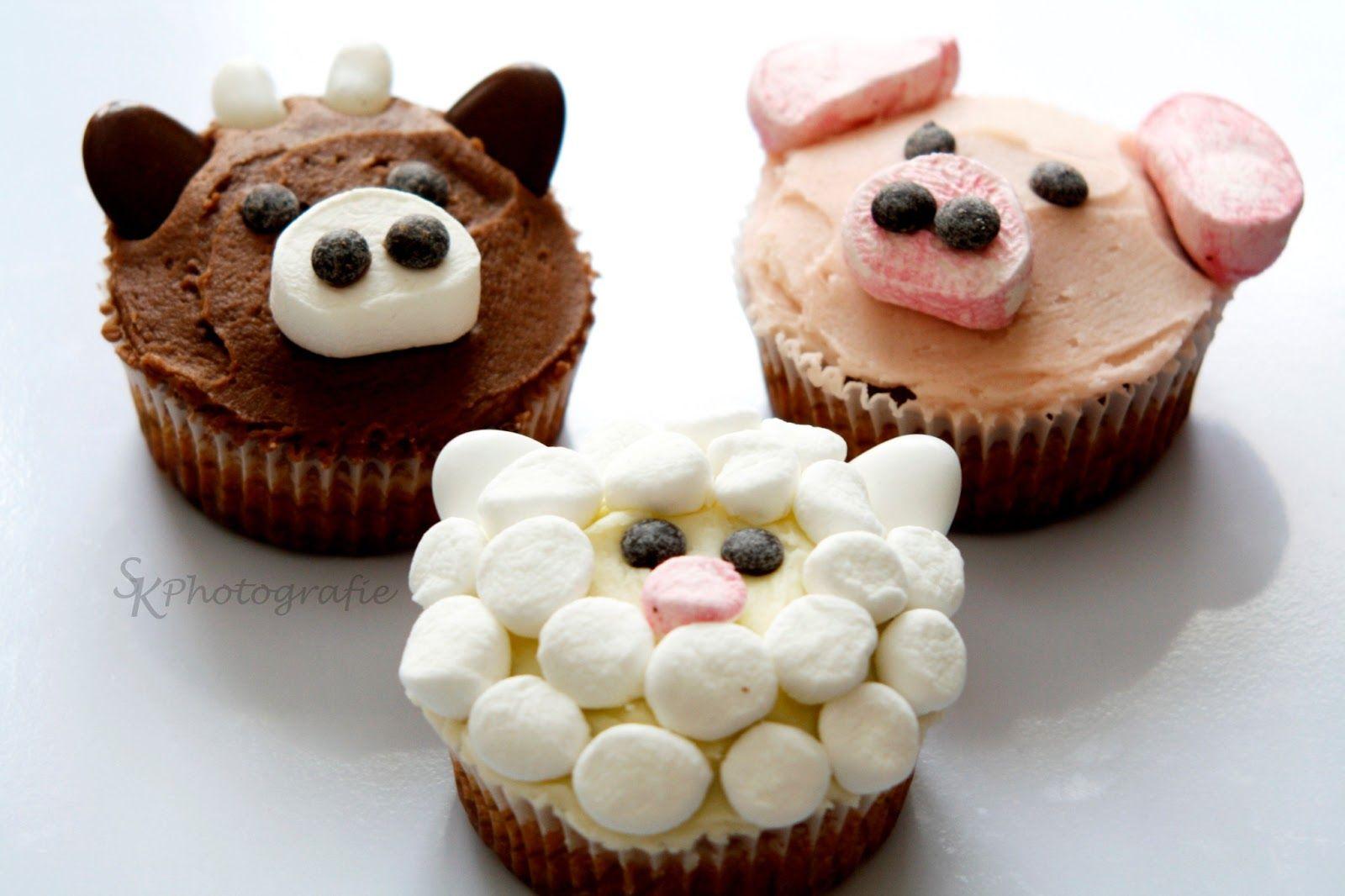 Alles und Anderes: Tierische Cupcakes zum Sonntag