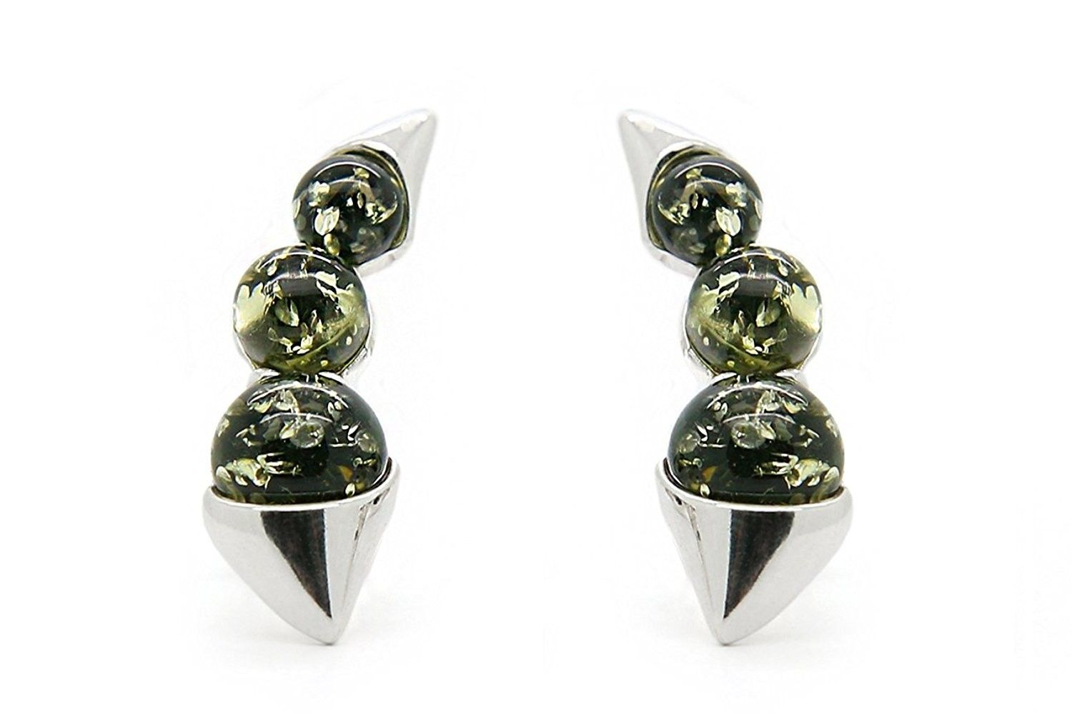 67e85a27fca7a 925 Sterling Silver Climber / Crawler Stud Earrings For Women with ...