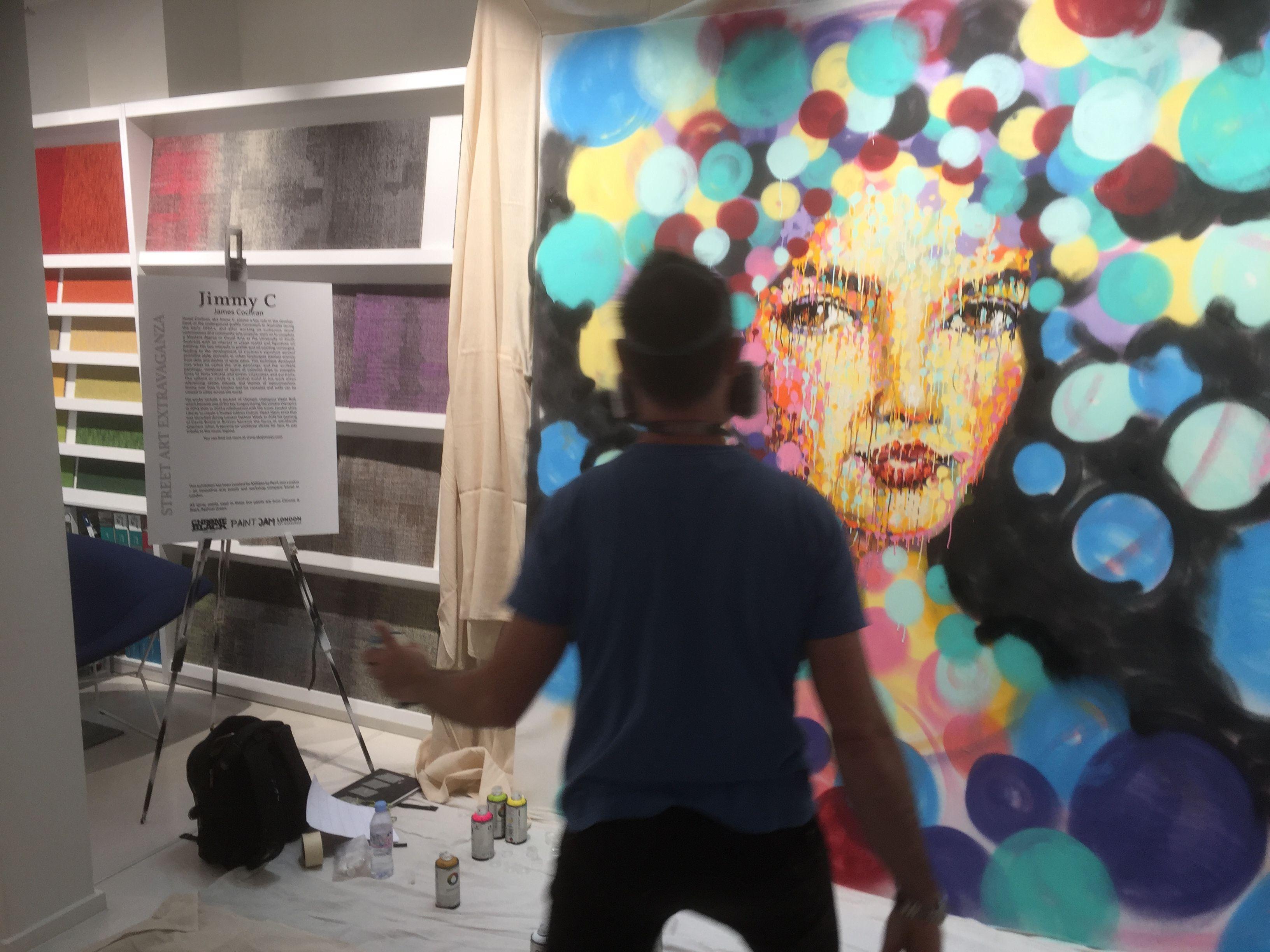 Jimmy's Street Art at Milliken Street Art Extravaganza at @cdwfestival #CDW2016