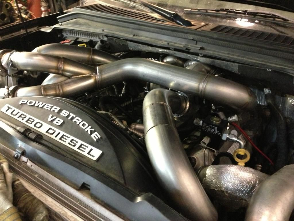Triple turbo 6 4 powerstroke