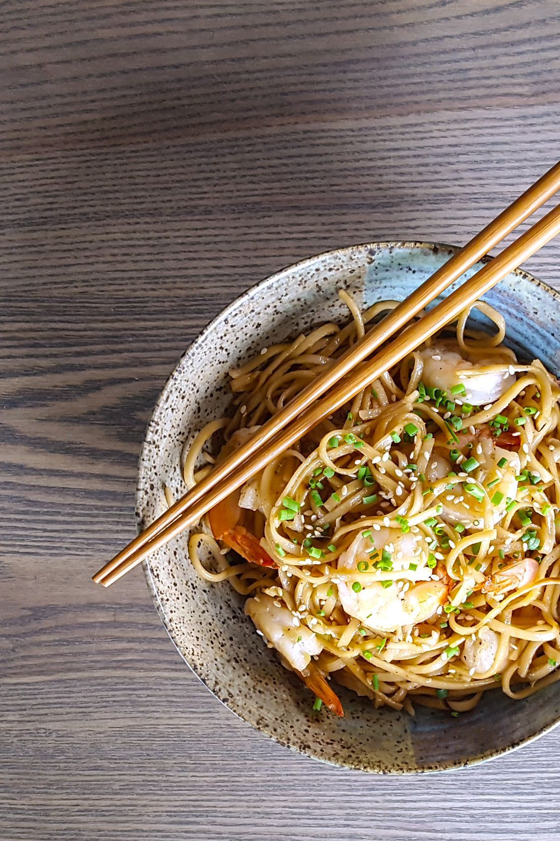 Better Than Take-Out: Spicy Shrimp Udon Noodle Stir Fry #stirfryshrimp Better Than Take-Out: Spicy Shrimp Udon Noodle Stir Fry | Feast In Thyme #stirfryshrimp