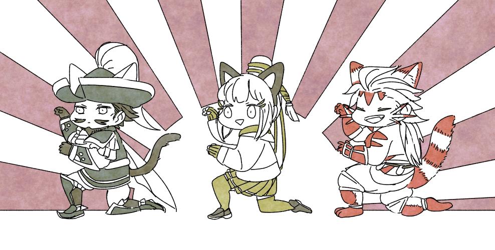 "guratarou: ""猫の日 - Cat Day カルカンくれくれのポーズ """