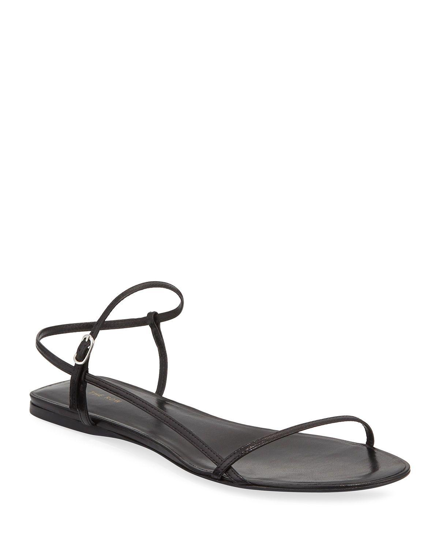 Strappy sandals flat, Footwear
