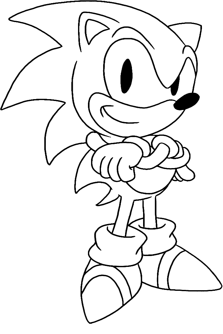 Sonic The Hedgehog Coloring Books Sonic Chaos Amy Rose Sonic Colors Shadow The Hedgehog Coloring Hedgehog Colors Cartoon Coloring Pages Pikachu Coloring Page