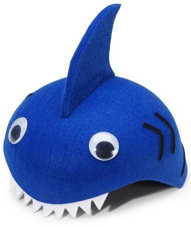 f26cda018f0 Felt Shark Hat