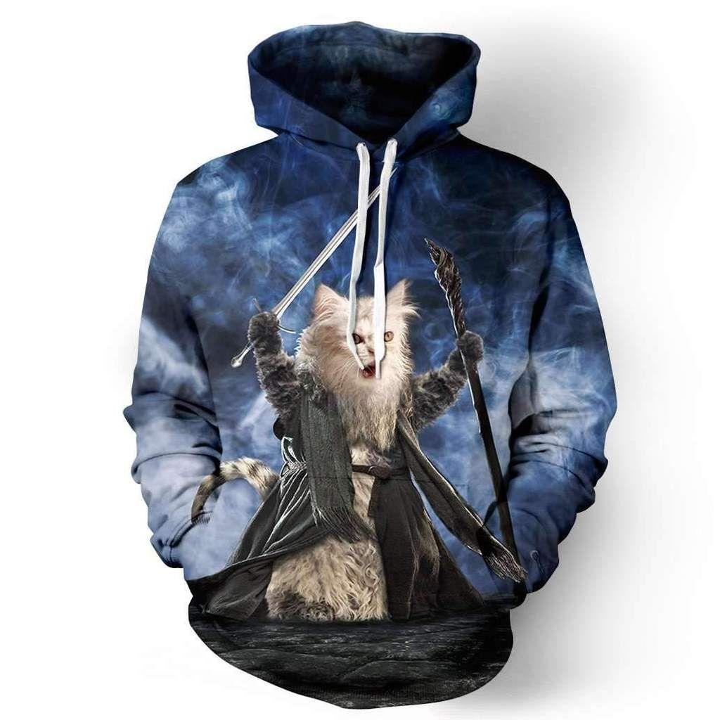Dr/ôle Pop Cat Meme Sweatshirt
