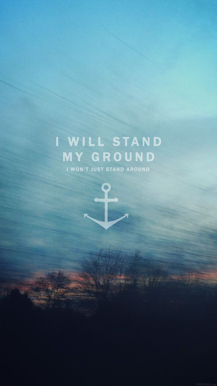 Not just stand around. Tap to see more Beautiful and Inspiring Quotes iPhone wallpapers ...