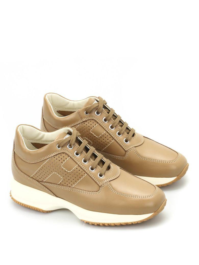 HOGAN Interactive Leather Sneakers.  hogan  shoes    16abdd1dac4