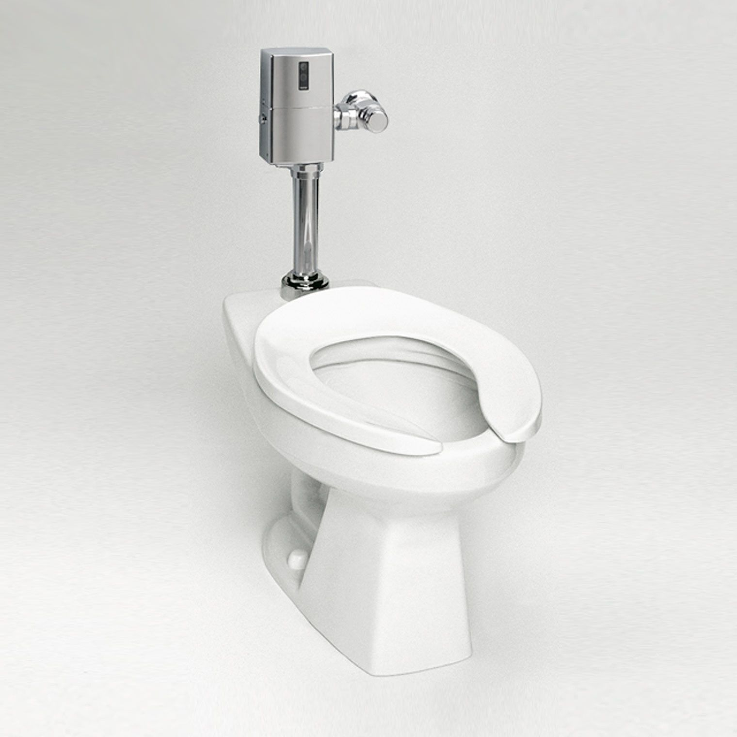 Toto Ct705en 01 Commercial Flushometer High Efficiency Toilet 1 28 Gpf Elongated Bowl Cotton White Mega Supply Store Toilet Flush Valves Toto