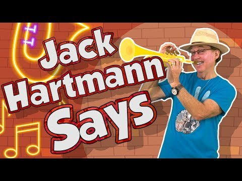 (1) Jack Hartmann Says Following Directions Song for
