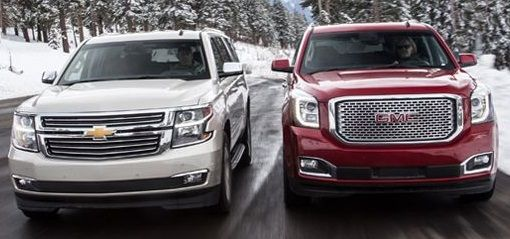 2015 Chevrolet Tahoe Or Gmc Yukon Suv Review With Images Gmc