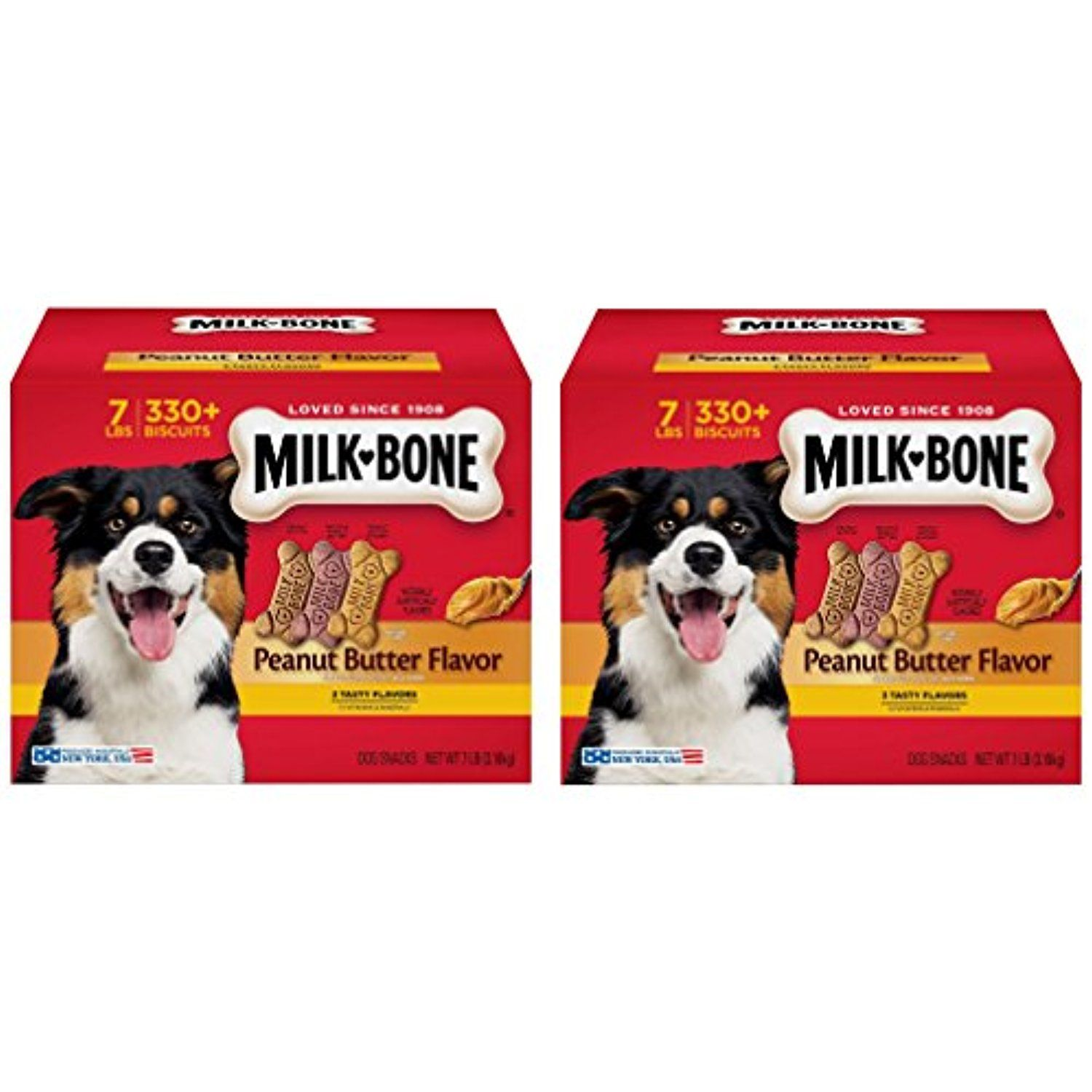 Milk Bone Peanut Butter Flavor Snacks Dog Treats Smallbiscuits Pppvhm 7 Pound 2 Box You Can Learn More By Visiting T Dog Snacks Milk Bone Peanut Butter