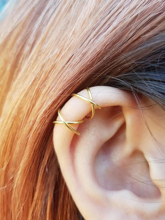 Criss Cross Ear Cuff Earring Cartilage