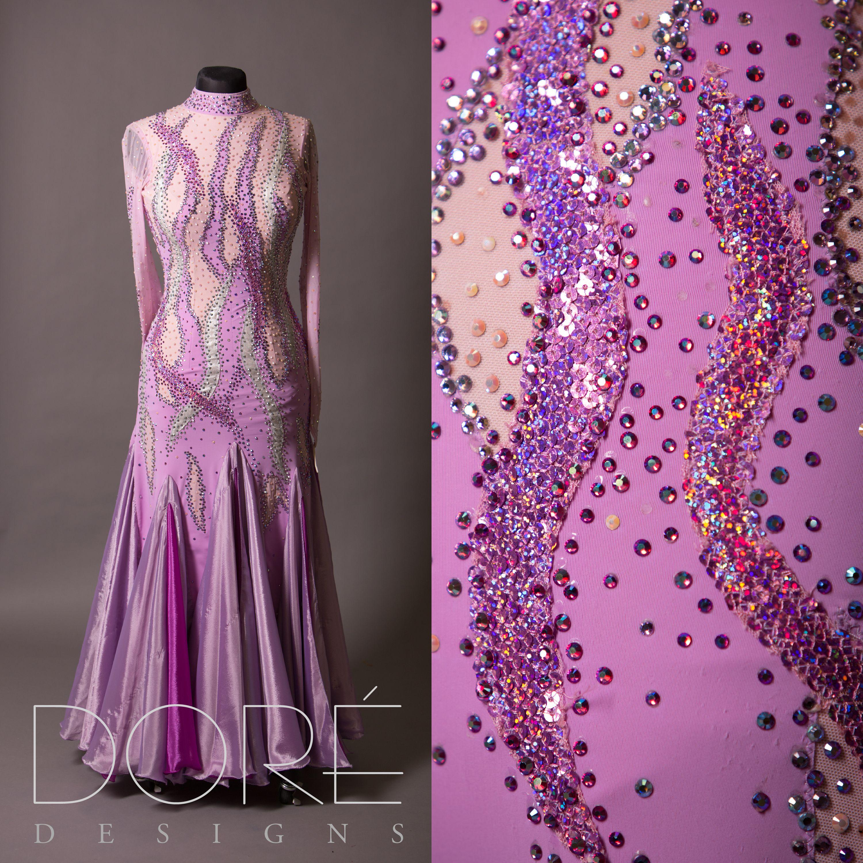 Lavender, Violet, & Silver Smooth   Ballroom - Smooth / Standard ...
