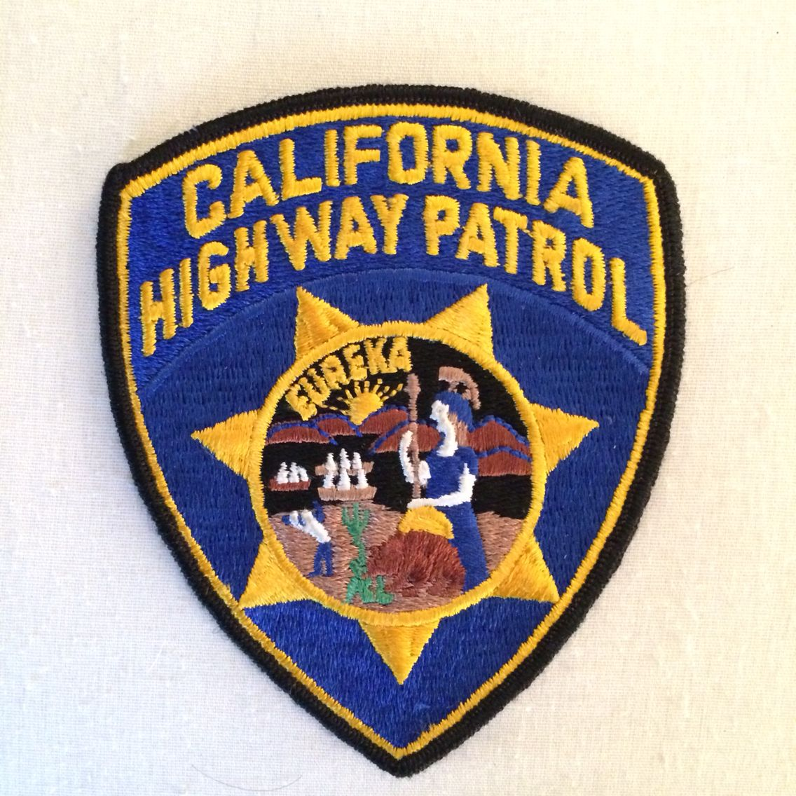 California Highway Patrol Police patches, California