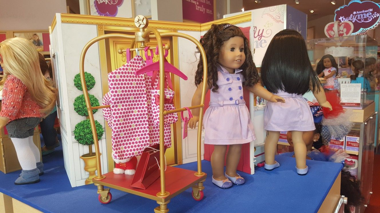 Love all aspects of the American Girl Doll Brand Doll Company Grand Hotel