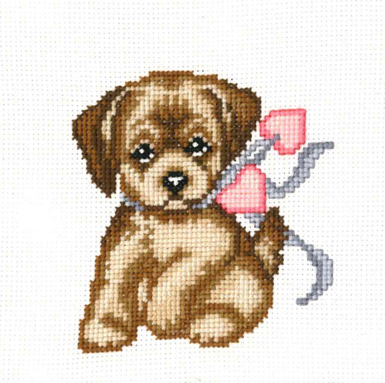 Картинки собак для вышивания