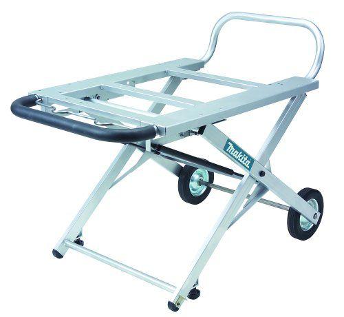 Makita 194093-8 Adjustable Portable Table Saw Stand with Wheels  http://www.handtoolskit.com/makita-194093-8-adjustable-portable-table-saw-stand-with-wheels/