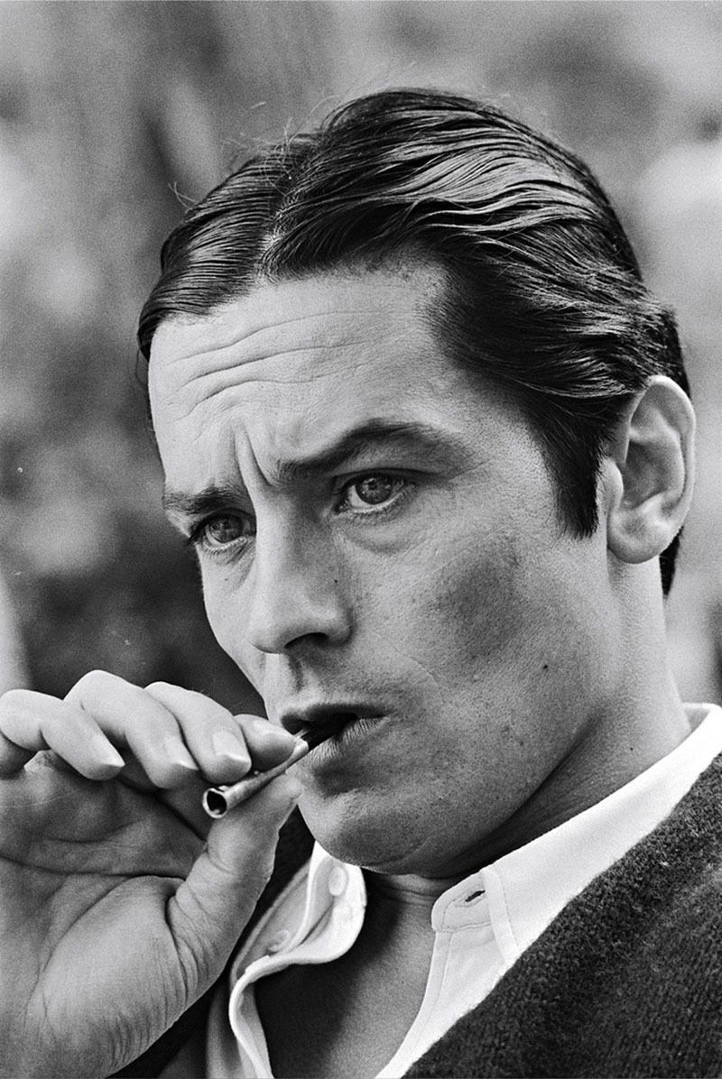 PHOTO ALAIN DELON 11X15 CM  # 20