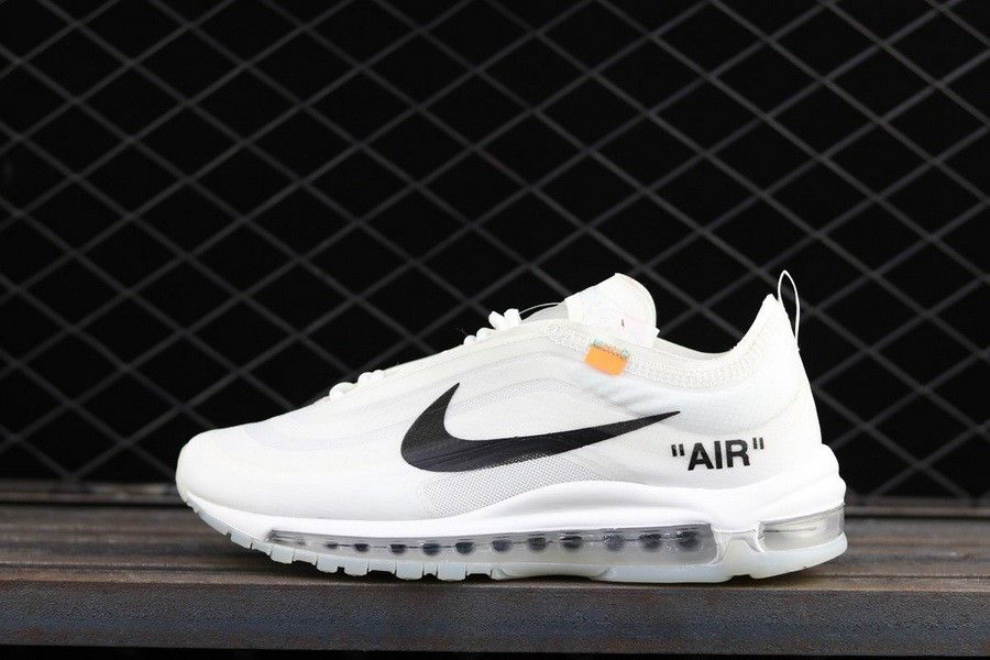 new styles ab5b2 1453e Popular Off-White x Nike Air Max 97 White Cone-Ice Blue