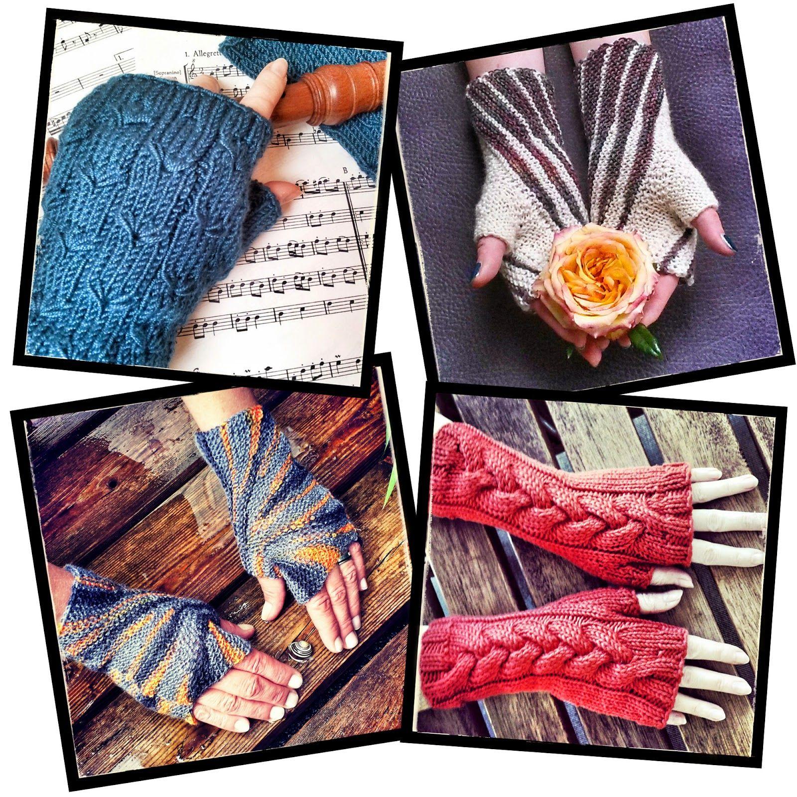 Free Knitting Patterns for Fingerless Gloves   knitting and crochet ...