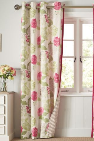Buy Natural Flourish Print Eyelet Curtains Online Today At Next Rep Of Ireland