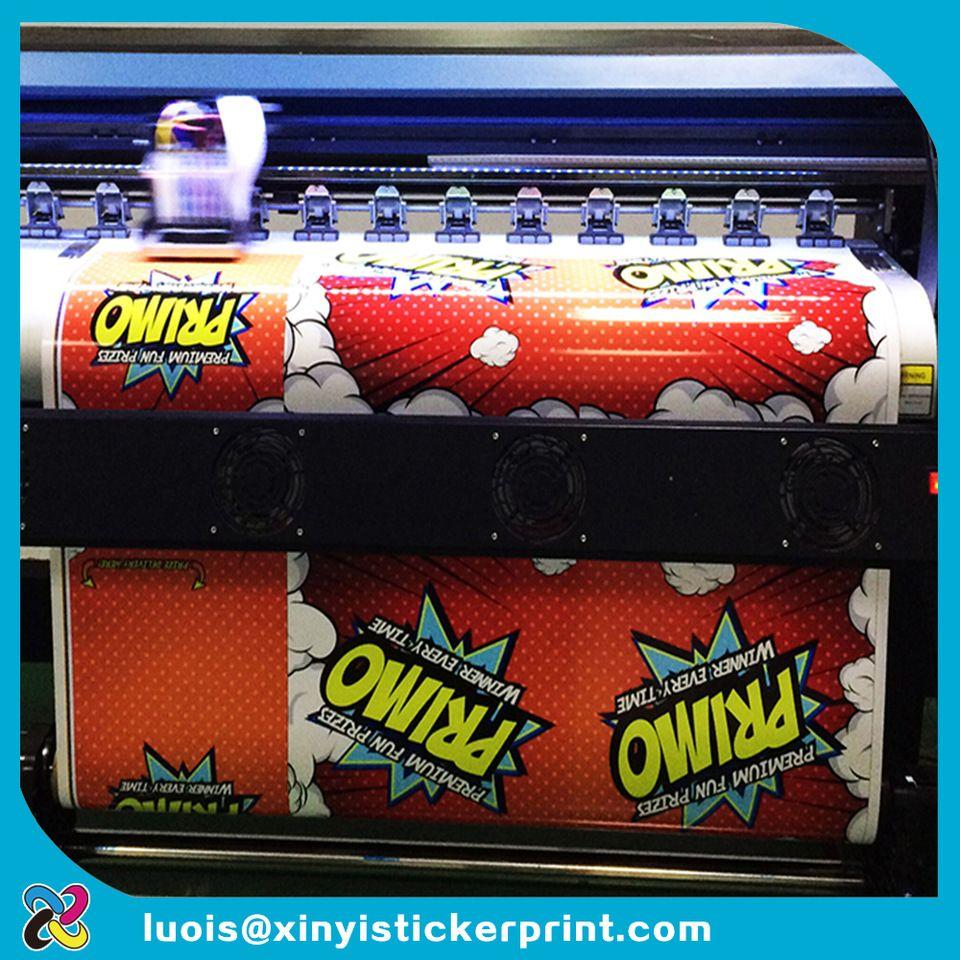 Custom digital inkjet printing vinyl floor decal sticker