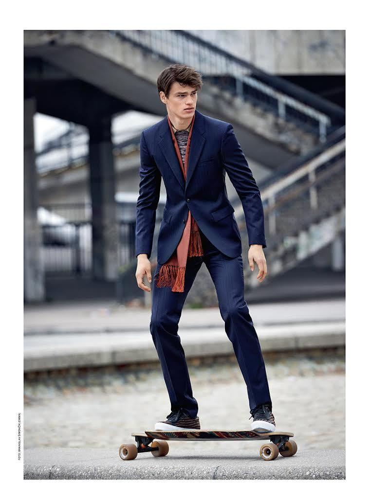 Filip Hrivnak Shows Us Tailored Skaterboy Style #ALFAIATARIAS #FocusTextil