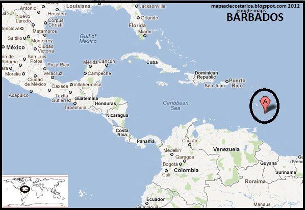 barbados mapa barbados mapa mundi   Buscar con Google | Barbados (Bridgetown  barbados mapa