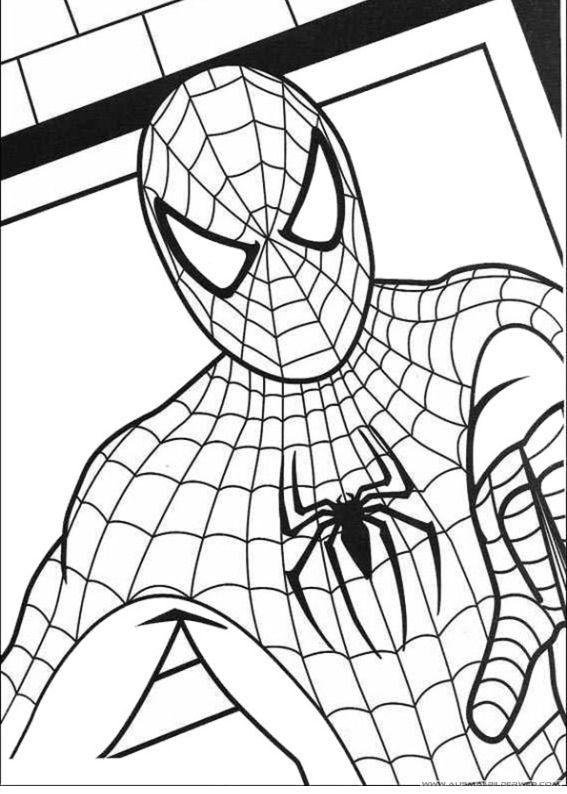 ausmalbilder spiderman38  ausmalbilder für kinder